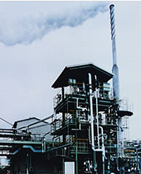 Incinerator for Waste Liquids Containing Solid Particles